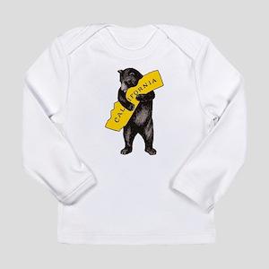 Vintage California Bear Hug Il Long Sleeve T-Shirt