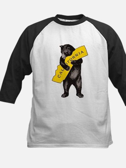 Vintage California Bear Hug Illust Baseball Jersey