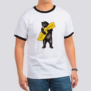 Vintage California Bear Hug Illustration T-Shirt