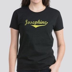 Josephine Vintage (Gold) Women's Dark T-Shirt