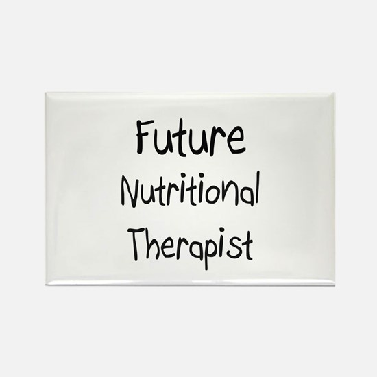 Future Nutritional Therapist Rectangle Magnet