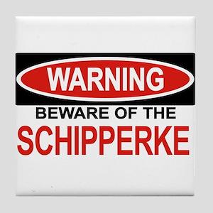 SCHIPPERKE Tile Coaster