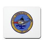 USS AMBERJACK Mousepad