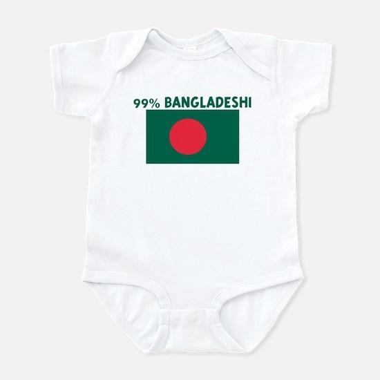 99 PERCENT BANGLADESHI Infant Bodysuit