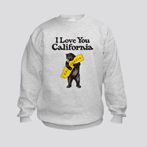 """I Love You California"" Vintage Il Kids Sweatshirt"