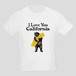 """""""I Love You California"""" Vintage Illustrati T-Shirt"""