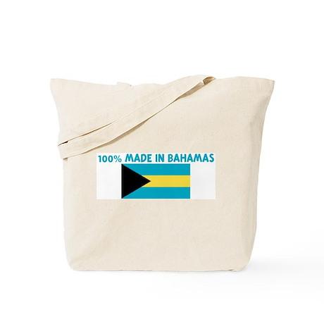 100 PERCENT MADE IN BAHAMAS Tote Bag
