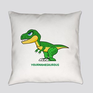 T-rex personalized Everyday Pillow
