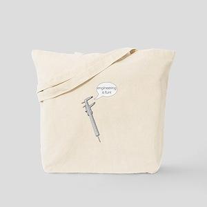 Engineering Calipers Tote Bag
