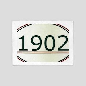 1902 5'x7'Area Rug