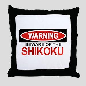 SHIKOKU Throw Pillow