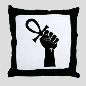 Black Life Throw Pillow