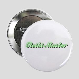 """Reiki Master 2.25"""" Button"""
