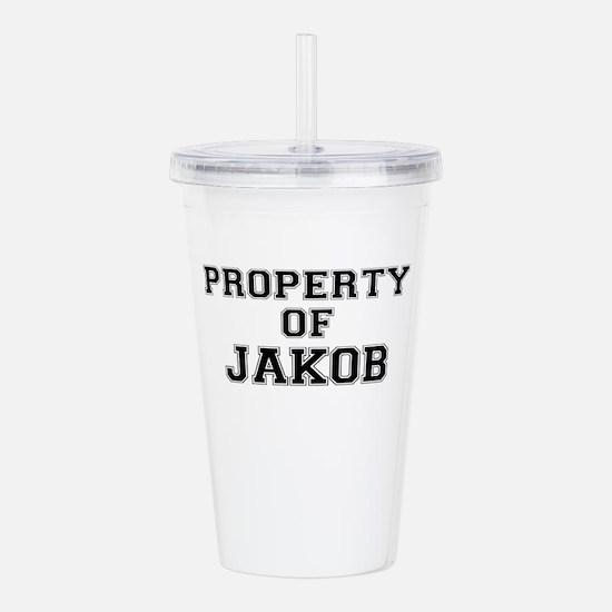 Property of JAKOB Acrylic Double-wall Tumbler