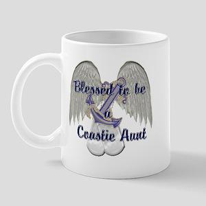 Blessed Coastie Aunt Mug
