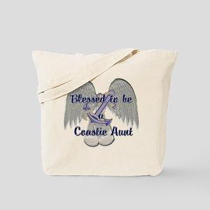 Blessed Coastie Aunt Tote Bag
