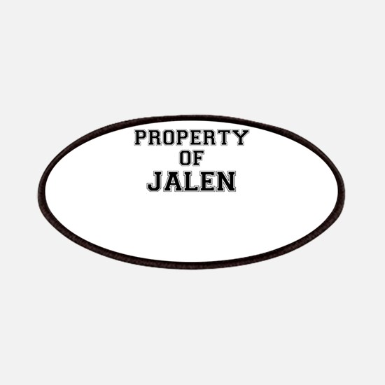 Property of JALEN Patch