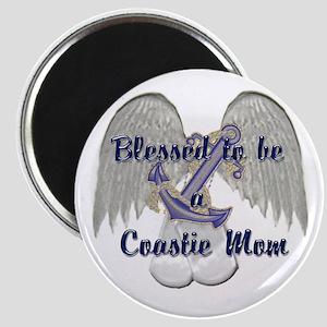 Blessed Coastie Mom Magnet