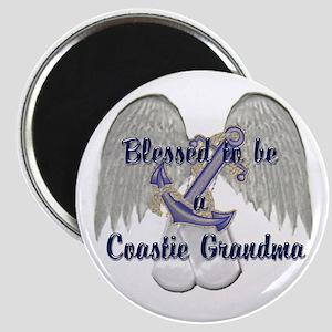 Blessed Coastie Grandma Magnet