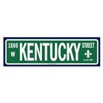 Kentucky Street sticker