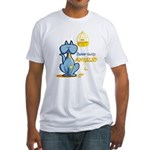 Pablo Cat Fitted T-Shirt