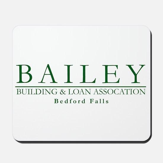 Bailey Bldg & Loan Mousepad