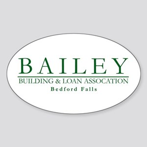 Bailey Bldg & Loan Oval Sticker