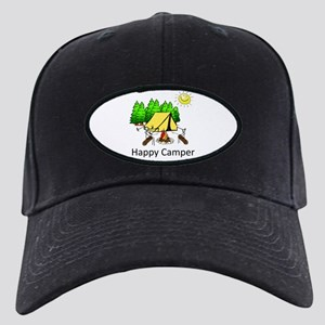 Happy Camper Black Cap
