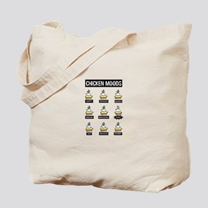 Chicken Moods Tote Bag