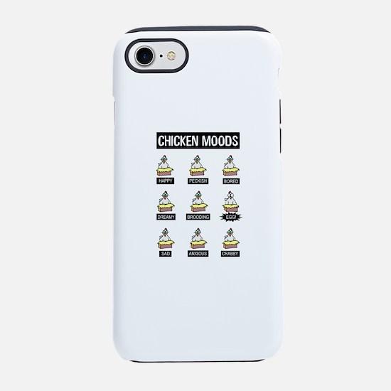 Chicken Moods iPhone 8/7 Tough Case