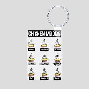 Chicken Moods Keychains