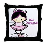 Ballet Lil Throw Pillow