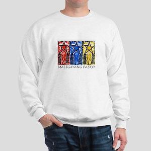 3 Parol Maligayang Pasko Sweatshirt