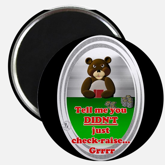 "Poker Check-Raise 2.25"" Magnet (10 pack)"