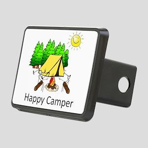 Happy Camper Rectangular Hitch Cover
