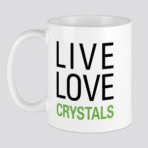 Live Love Crystals Mug