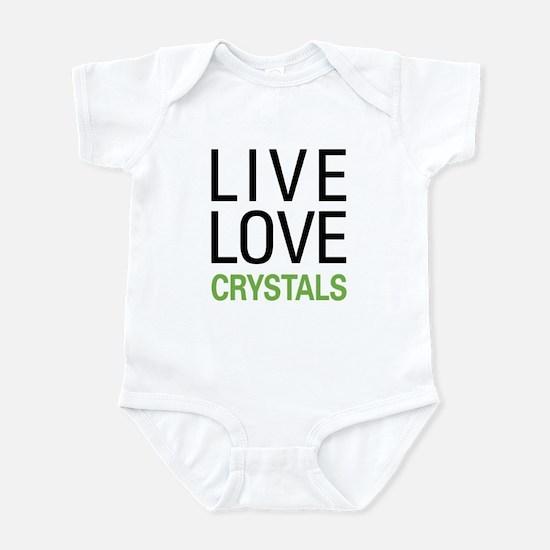 Live Love Crystals Infant Bodysuit