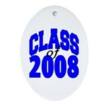 Class of 2008 Oval Ornament