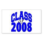 Class of 2008 Rectangle Sticker