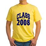 Class of 2008 Yellow T-Shirt