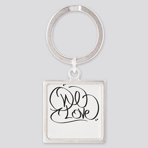 One Love Keychains