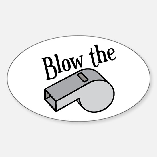 Blow the Whistle Decal