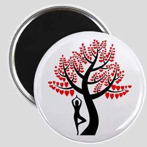 Heart Tree Magnet