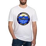 USS HARDHEAD Fitted T-Shirt