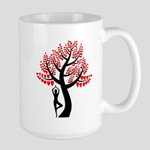Heart Tree Large Mug