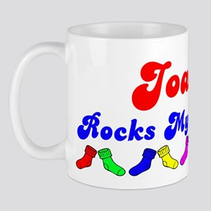 Joaquin Rocks Socks (B) Mug