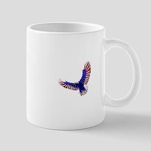 Eagle - American flag motive Mugs