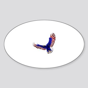Eagle - American flag motive Sticker