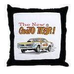 GeeTO Tiger Throw Pillow