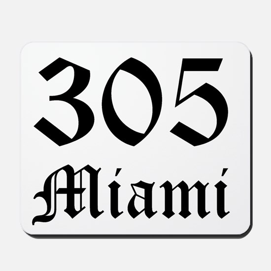 305 Miami 6 Mousepad